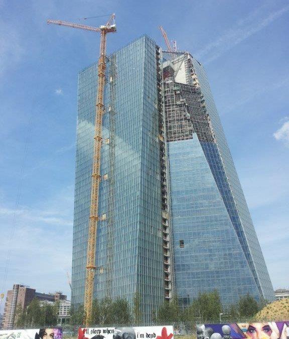 Neubau EZB Frankfurt/Main